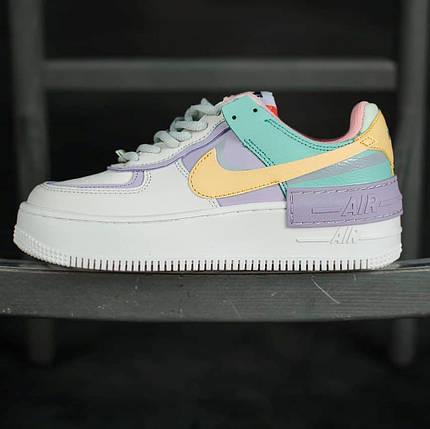 Женские кроссовки Nike Air Force 1 Shadow Pale Ivory, фото 2