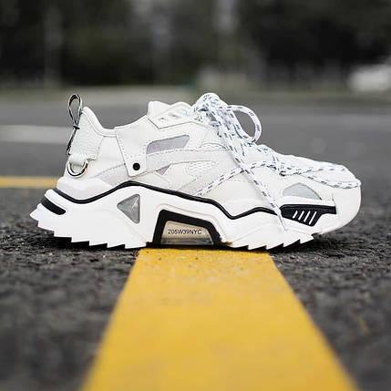 Женские кроссовки Calvin Klein Strike White, фото 2