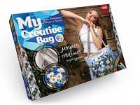 Набор сумка вышитая лентами my creative bag