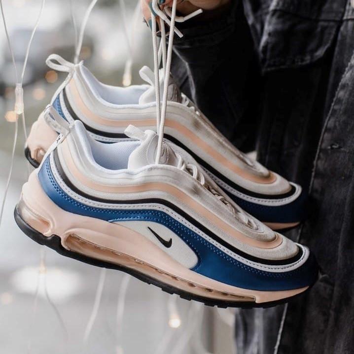 Женские кроссовки Nike Air Max 97 Blue/Beige