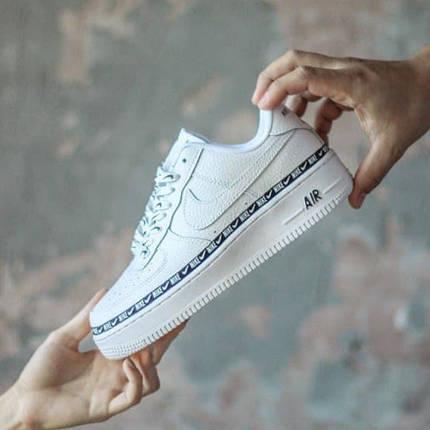 Женские кроссовки Nike Air Force 1 SE Premium White, фото 2