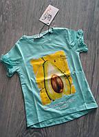 Футболка для девочки Авокадо Avokado Турция 3-7 лет