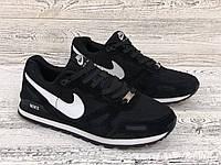 Мужские кроссовки Nike Venture Runner md 2 (реплика) Черные. Чоловічі кросівки Найк раннер 2.