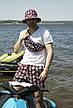 Комплект шорти+бананка+панама | Розміри S-3XL | 8 варіантів візерунку, фото 2