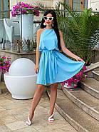 Сукня жіноча літня завдовжки вище колін на зав'язках, фото 2
