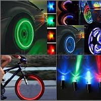 Насадка светодиодная на ниппель Разноцветная 1шт (car2)