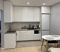 Кухня на замовлення в сучасному стилі. Кухня під стелю. Кухня 2021 року модель, фото 1