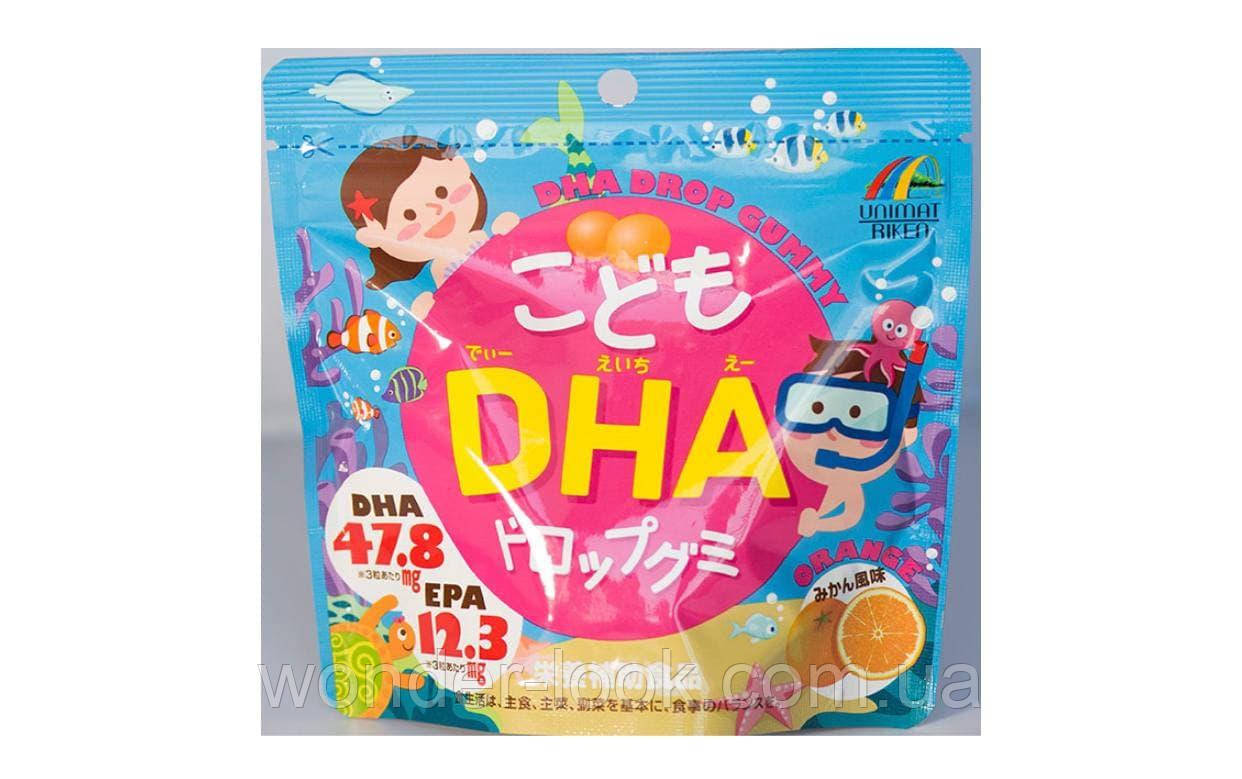 Unimat Riken Омега-3 жирные кислоты для детей, 90 штук