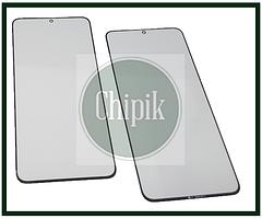 Скло для переклеювання дисплея Samsung G996, Galaxy S21+, S21 Plus c OCA, чорне