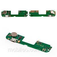 Плата зарядки для Lenovo S8 S898T | S898T Plus, с разъемом зарядки, с микрофоном и виброзвонком