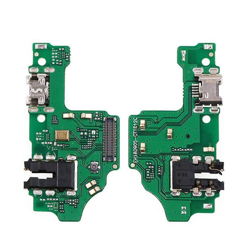 Плата зарядки для Huawei Honor 8X (2019) с разъемом зарядки и компонентами