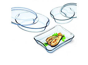 Набір посуд(2,5 л,1,5 л, 2,5 л) s312 ТМ SIMAX
