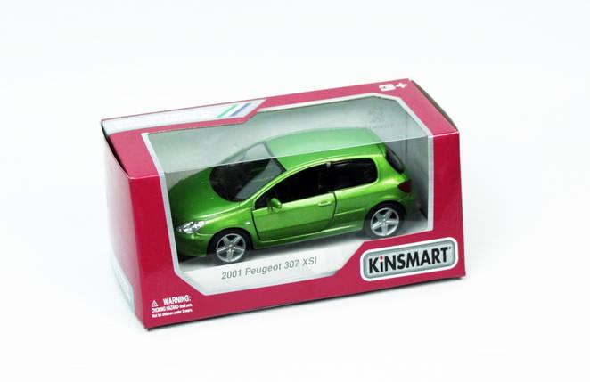 """KINSMART Мет. машина """"Peugeot 307"""", фото 2"""
