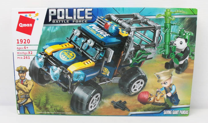 """Конструктор """"Поліція"""" в коробці, фото 2"""