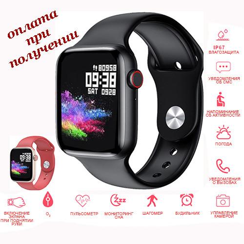 Розумні Smart Watch смарт фітнес браслет годинник трекер T89 Original на РУССОКОМ стиль Xiaomi SAMSUNG Apple Watch