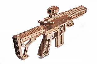 Конструктор деревянный Штурмовая винтовка AR-T Wood trick, фото 2