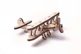 Дерев'яний Конструктор Wood trick Вудик Міні Літак пазл. 100% ГАРАНТІЯ ЯКОСТІ (Опт,дропшиппинг), фото 2
