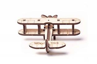 Дерев'яний Конструктор Wood trick Вудик Міні Літак пазл. 100% ГАРАНТІЯ ЯКОСТІ (Опт,дропшиппинг), фото 3