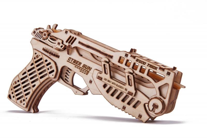 Дерев'яний Конструктор Wood Trick Сайбер Ган. 100% Гарантія якості (Опт, дропшиппинг).