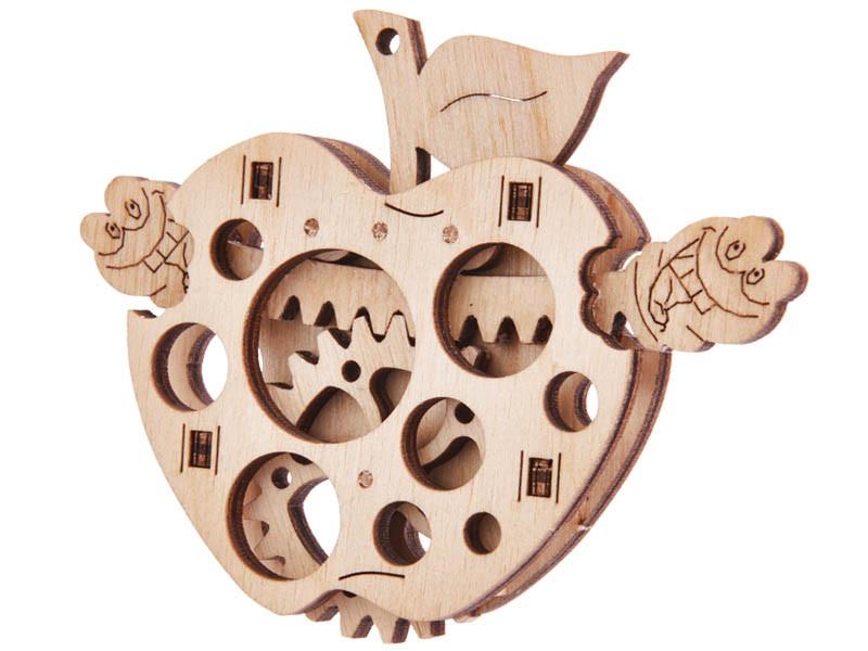 Мини-конструктор деревянный Яблоко Wood trick