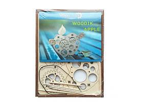 Мини-конструктор деревянный Яблоко Wood trick, фото 3