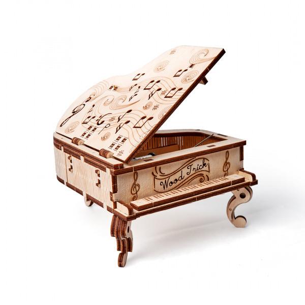 Конструктор деревянный музыкальный рояль Wood trick