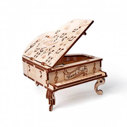Конструктор деревянный музыкальный рояль Wood trick, фото 2