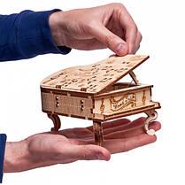 Конструктор деревянный музыкальный рояль Wood trick, фото 3