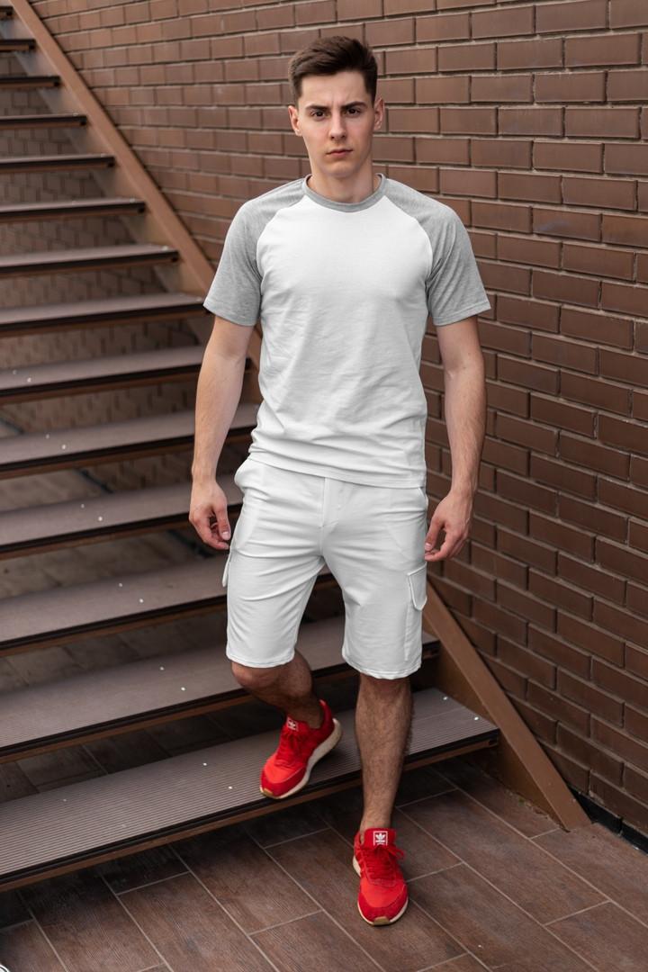 Футболка и шорты комплект мужской