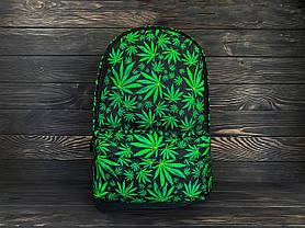 Рюкзак оранжевый с принтом, фото 2