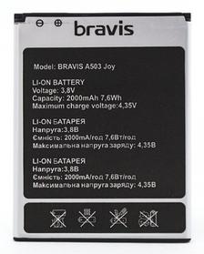 Акумулятор (Батарея) для Bravis A503 Joy (2000 mAh) Оригінал