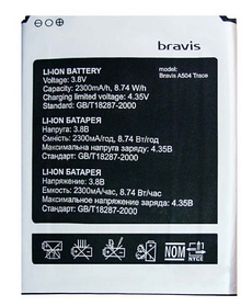 Акумулятор (Батарея) для Bravis A504 Trace (2300 mAh)