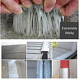 Самоклеюча бутилова стрічка Водостійка стопорная стрічка для ремонту і герметизації 5м*15см водонепроникна стрічка, фото 9