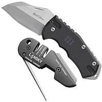 Набор нож + точило Lansky World Legal/Blademedic Combo