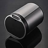 Сенсорне відро для сміття JAH 25 л кругле темно-срібний металік без внутрішнього відра, фото 4