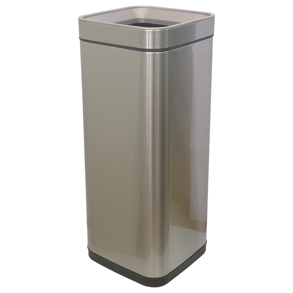 Відро для сміття JAH 30 л срібний металік без кришки і внутрішнього відра