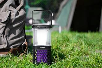 Знищувач комарів + LED ліхтар на сонячних батареях Noveen IKN895