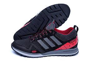 Мужские летние кроссовки сетка Adidas Summer Red (реплика)
