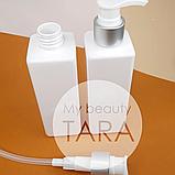 Флакон 250 мл с дозатором для мыла Боди (белый), фото 2