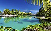 Фотошпалери 3D море 254x184 см Гавайський курорт (577P4) Найкраща якість