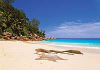 Фотошпалери 3D море 254x184 см Пляж на Ібіці (10878P4) Найкраща якість