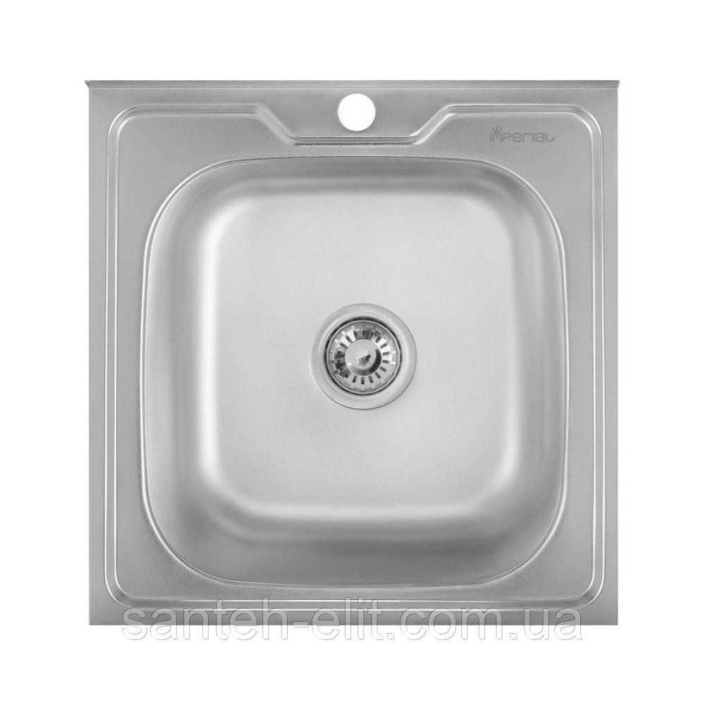 Кухонна мийка Imperial 5050 Satin (IMP5050SAT)