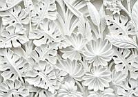 Фотообои виниловые 3D цветы 312x219 см Узоры из керамики (10052WVZXXL) Лучшее качество