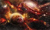 Фотошпалери 3D 254x184 см Чарівний космос (2734P4) Найкраща якість