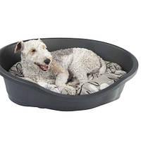Спальне місце для собак Imac Дайдо, пластик, 95х67,5х28 см, світло-сірий 86480