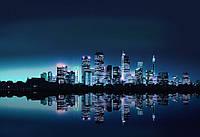 Фотообои виниловые 312x219 см Зеркальный город Нью-Йорк (051WVZXXL) Лучшее качество