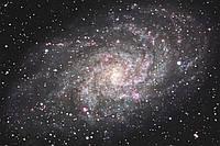 Фотошпалери флізелінові 3D Космос 375х250 см Галактика - Чумацький шлях (MS-5-0189) Найкраща якість
