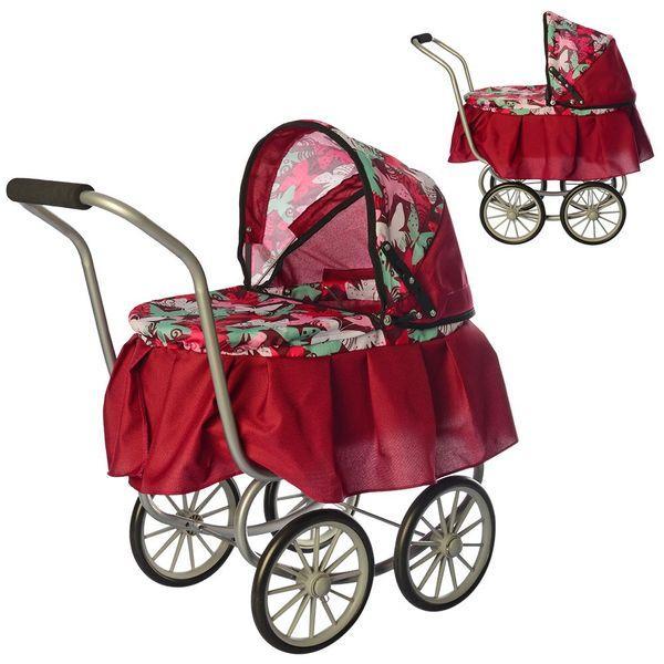 Класична коляска для ляльки Melogo 9678