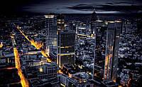 Фотошпалери 3D 254x184 см Нічний міста не спить (329P4) Найкраща якість