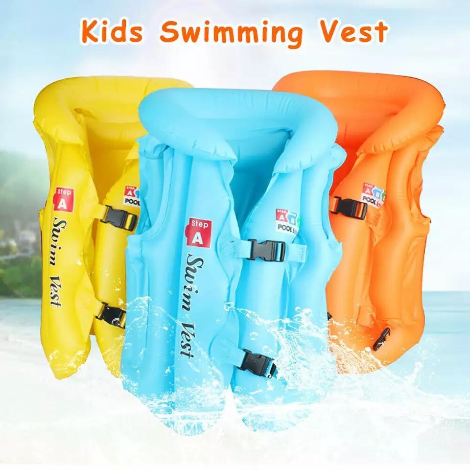 Дитячий надувний жилет для плавання